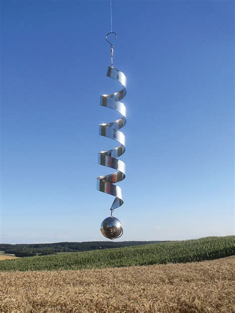 Zum Aufhängen by Windspiel Zum Aufh 228 Ngen 187 Spirale 171 Mit Edelstahlkugel