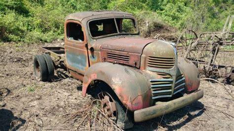 late   early  classic dodge wf  farm truck