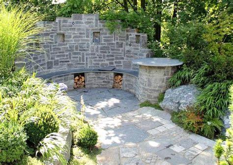 Mauer Im Garten Mauer Für Sitzecke Im Garten Selber Gestalten Sitzplatz