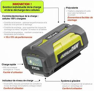 Batterie Ryobi 36v : batterie ryobi 36v 5ah ryobi lawn mower kit 36v 2 5ah ~ Farleysfitness.com Idées de Décoration