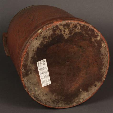 Lot 287: SW VA Pottery Storage Jar, J. W. Gardner