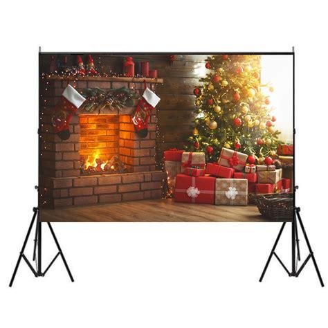 merry christmas backdrop family photo shoot props background uk ebay