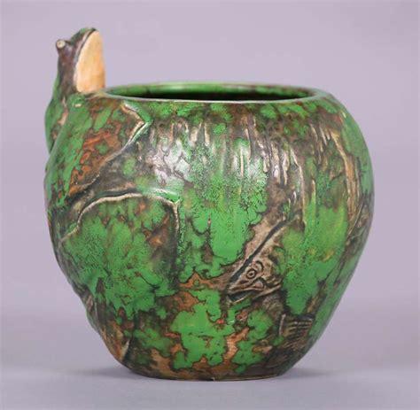 weller coppertone vases california historical design