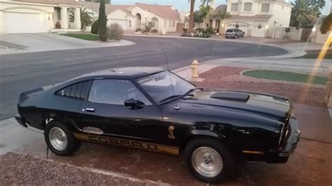 77 Mustang For Sale by 1977 Ford Mustang Ii 77 Cobra Ii Car