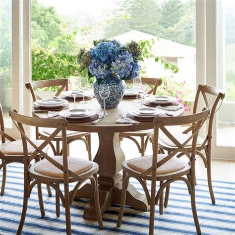 perfect  hamptons dining table  inspire  tips  stylin