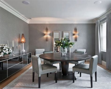 Gray Dining Room Ideas by Grey Dining Room Home Design Ideas Pictures Remodel And