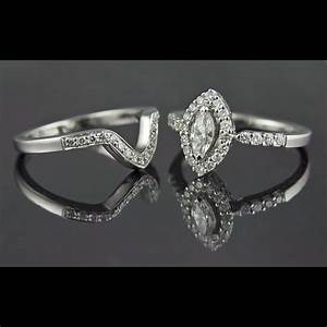 marquise engagement ring with wedding band With marquise engagement rings with wedding band