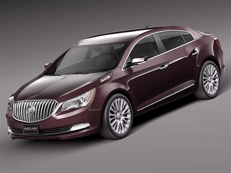 Buick New Models For 2014 by Buick Lacrosse 2014 3d Model Max Obj 3ds Fbx C4d Lwo