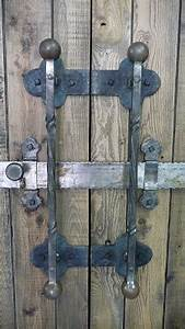 living iron barn door pulls and slide lock With barn door locking handles