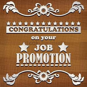 Congratulations For Promotion In Job