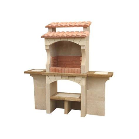 barbecue exterieur en barbecue ext 233 rieur en traditionnel en brique b 233 ton pas cher cordoue