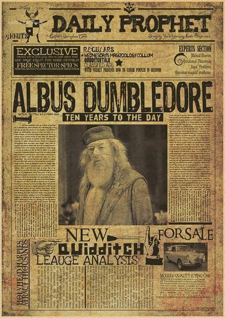 Harry Potter Wanted Order Undesirable No.1 Vintage Retro