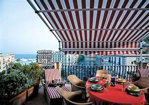 wie sie ihren balkon vor wind und sonne schutzen With markise balkon mit erfurt tapete classico