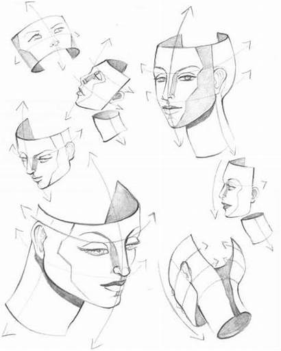 Drawing Mouth Profile Head Structure Figure Side