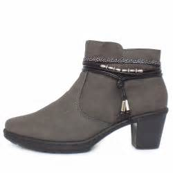 womens grey boots canada rieker thame 54953 45 39 s grey ankle boots lambswool lined