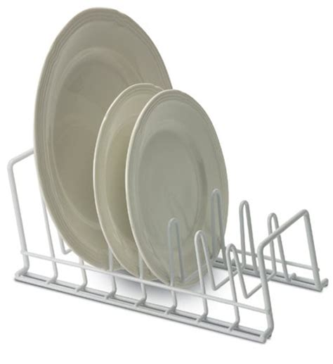 white wire lid  plate holder  pot lid racks