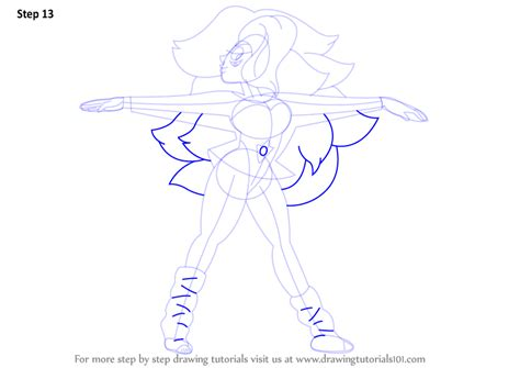 Step By Step How To Draw Rainbow Quartz From Steven