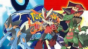 Pokemon Omega Ruby Alpha Sapphire Hoenn Starter Mega ...