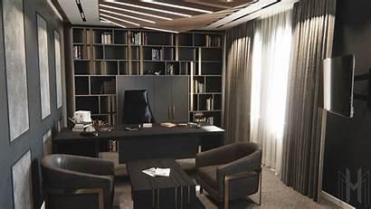 Boss Office Interior Models Cgtrader Turbosquid Obj