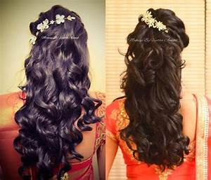 South Indian Wedding Hairstyles For Curly Hair Short Curly Hair