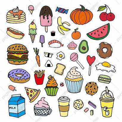 Cartoon Doodles Doodle Colorful Clipart Pngtree Pastry