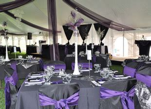 purple and gray wedding decorations and table settings wedding ideas purple wedding table