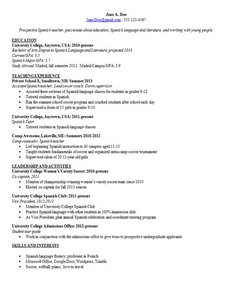 How A Resume Should Look Like by Resume In Nyc Sales Lewesmr