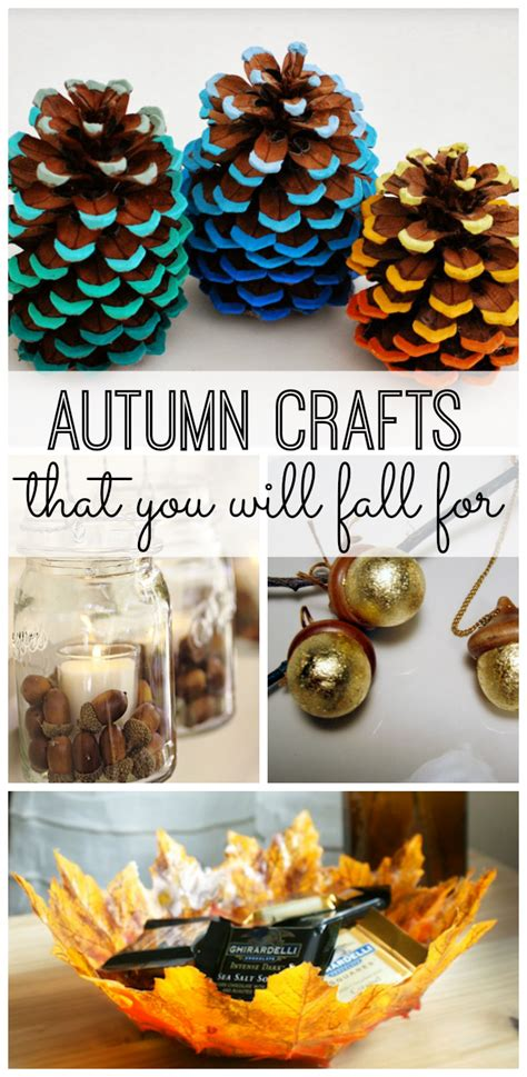autumn crafts    fall   life  kids