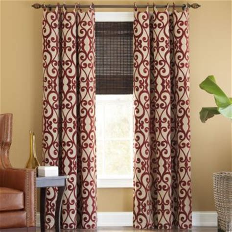 jcpenney brown sheer curtains palais grommet top curtain panel found at jcpenney for