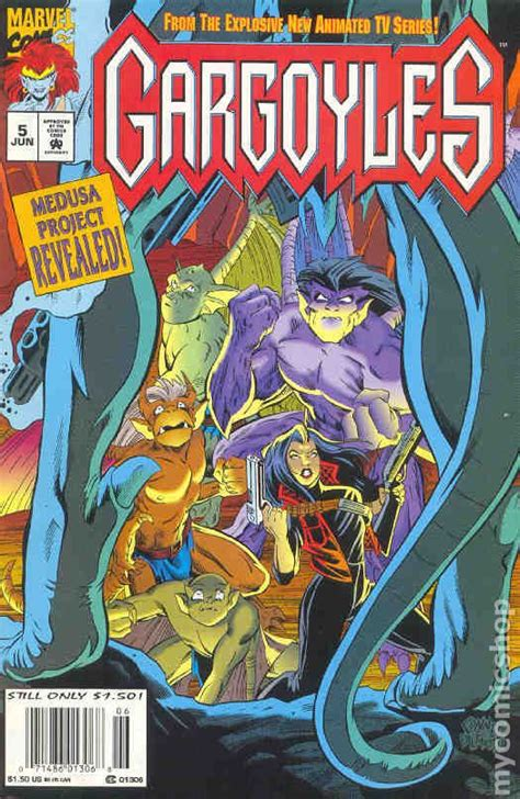 gargoyles  marvel comic books
