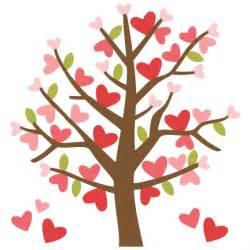 Valentine Tree Clip Art Free