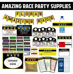 best 25 amazing race party ideas on pinterest amazing With amazing race birthday party templates