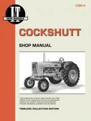 Cockshutt 540  550  560  U0026 570 Tractor Service Repair Manual
