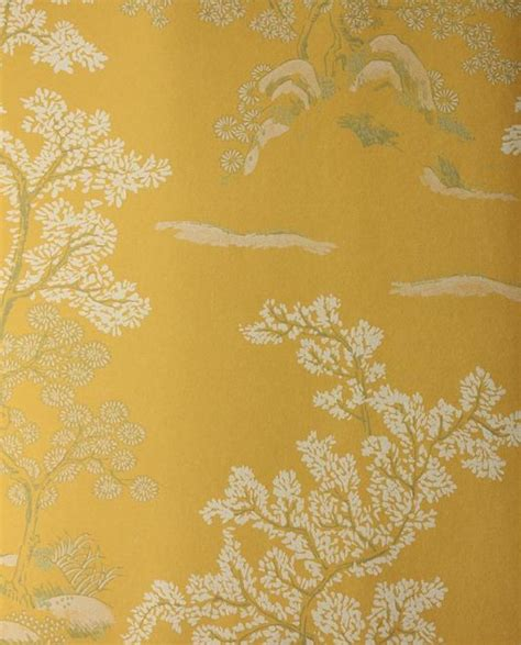 Green And Gold Tree Wallpaper by Tree Wallpaper Yellow Wallpaper With White And