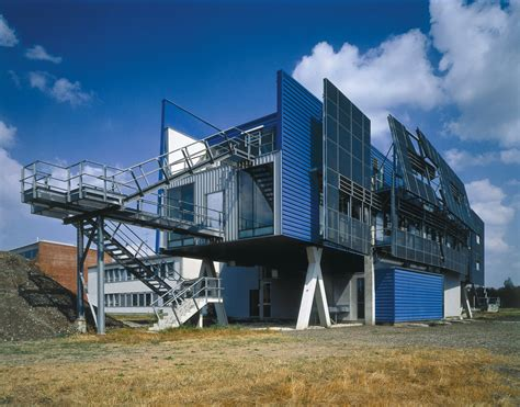 Office And Research Center Seibersdorf  Coop Himmelb(l)au