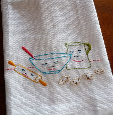 kitchen towel embroidery designs home accents and area rugs by mccall s linen tea towels 6314