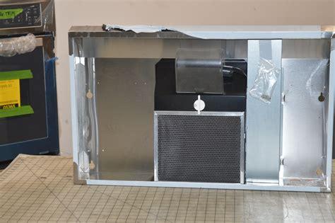 non vented range hoods under cabinet uxt4030ays 30 quot stainless non vented under cabinet range