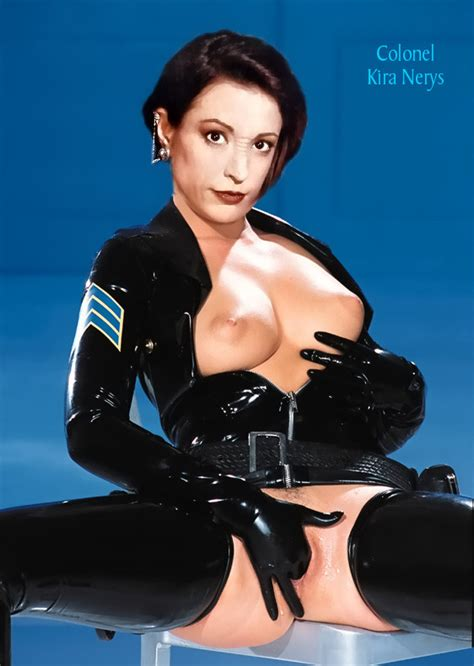 Nana Visitor - Rare Great Fakes Of Star Trek's Kira Nerys