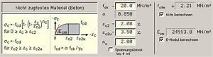Beton Berechnen : materialparameter ~ Themetempest.com Abrechnung