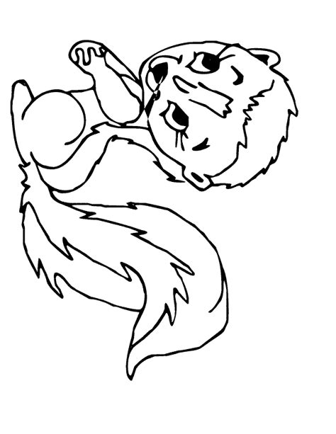 cartoon animal coloring pages    print