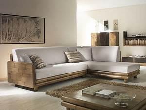 Canapé En Bambou : canap angle en bambou abacos haut de gamme de fabrication artisanale ~ Melissatoandfro.com Idées de Décoration