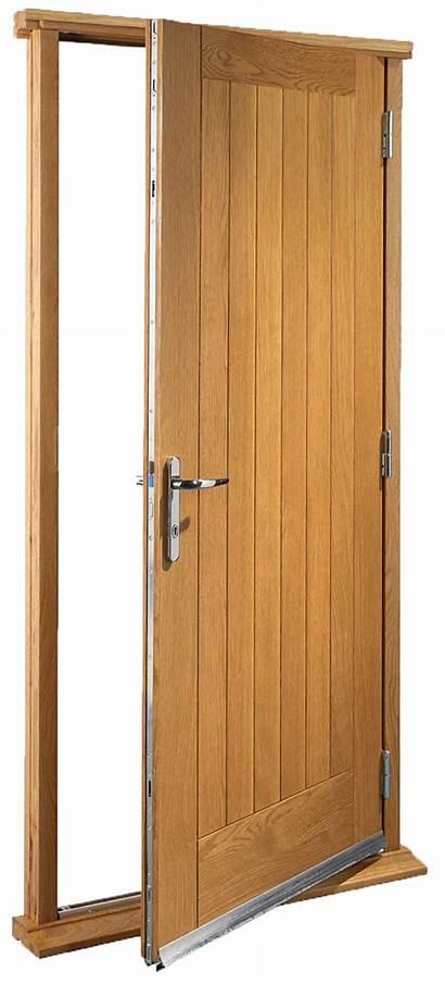 Door Exterior Oak Hung Pre Doors Finished