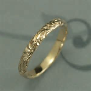vintage style wedding bands yellow gold wedding band florence 39 s gold wedding ring vintage style wedding ring swirl