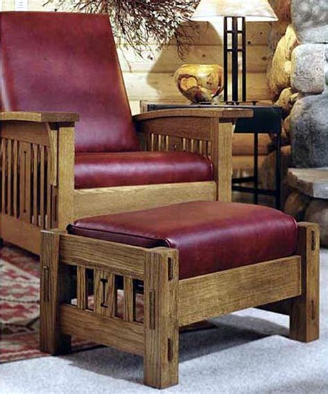 arts  crafts morris chair woodworking plan product