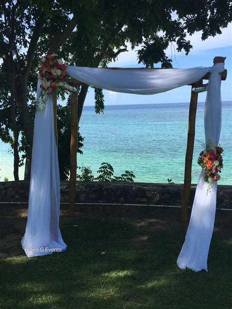 wedding decor jamaica 85 best wedding ceremony decor images on