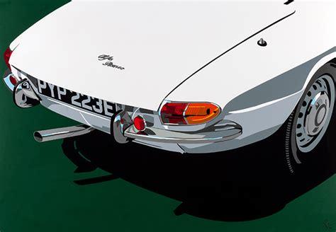 Alfa Romeo Duetto Spider Osso Di Seppia Art Print • Simply