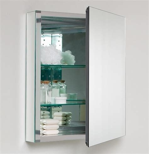 Wide Mirrored Bathroom Cabinet by 24 Quot Wide Mirrored Bathroom Medicine Cabinet
