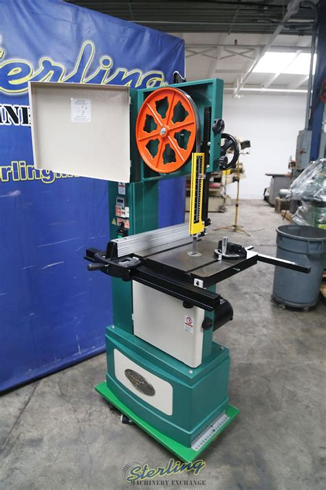 grizzly wood  metal vertical bandsaw woodworking