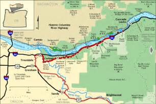 Columbia River Highway Map