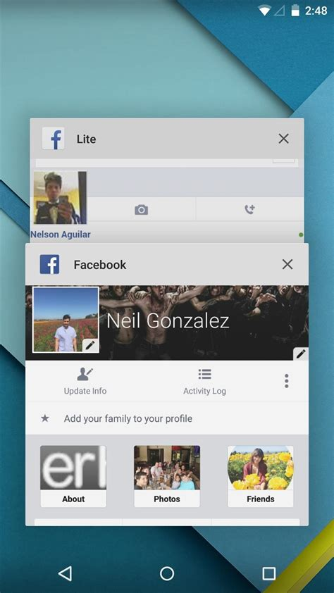 how to fb account with android phone how to set up two different accounts on one